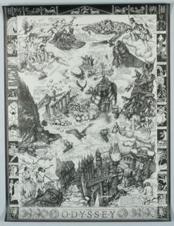 Poster, The Odyssey/Presenting/Lorenz Schleh