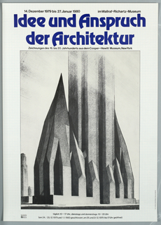 Poster, Idee und Anspruch der Architektur