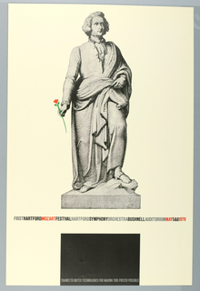 Poster, Hartford Mozart Festival, 1978