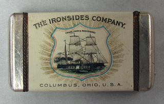"""Ironsides Company, Columbus, Ohio, U.S.A."" Made by Bastian Bros."