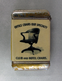 """""""The B.L. Marble Chair Co., Bedford, O., U.S.A. : Office Chairs Our Specialty/Club and Hotel Chairs"""""""