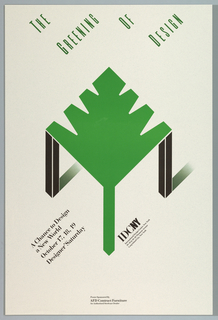 Poster, The Greening of Design
