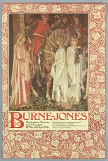 Poster, Burne Jones, Birmingham Museum