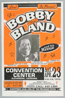 "Poster, Bobby ""Blue"" Bland, 1994"