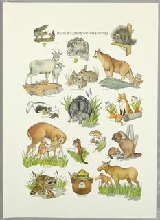 Poster, Smokey the Bear, ca. 1979