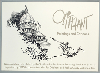 Poster, Oliphant Paintings and Cartoons