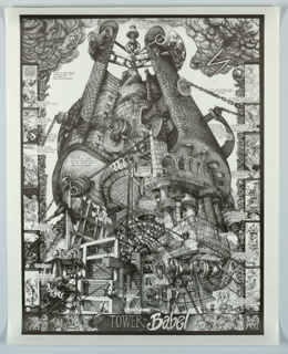 Poster, The Tower of Babel
