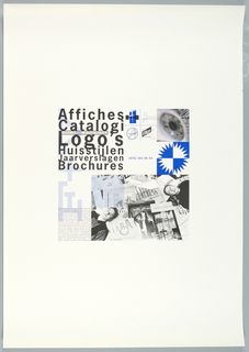 Poster, Affiches/Catalogi/Logos...