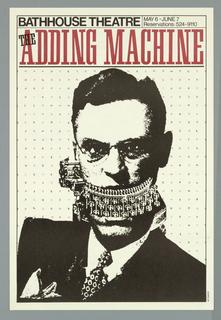 Poster, The Adding Machine