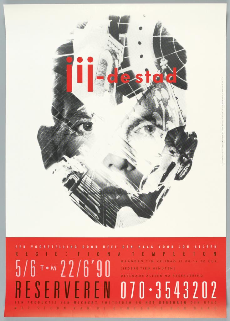 Poster, jij-de stad..., 1990