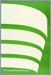 Poster, The Guggenheim Museum