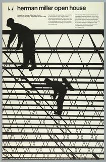 Poster, Herman Miller, Open House
