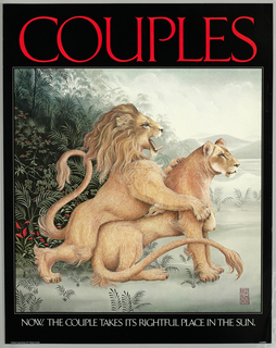 Poster, Couples, 1977