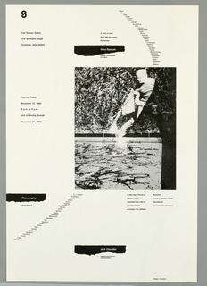 Poster, Carl Solway Gallery