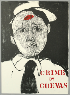 Poster, Crime by Cuevas, 1968