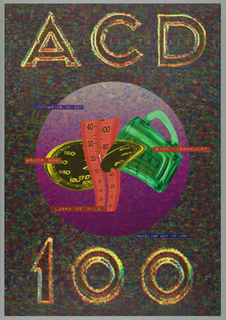 Poster, ACD-200/The OO Show Call, 1991