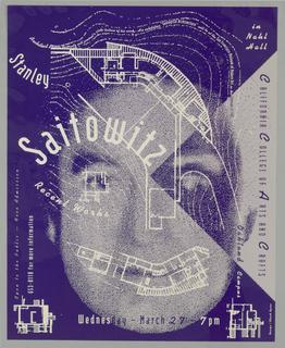 Poster, Stanley Saitowitz Recent
