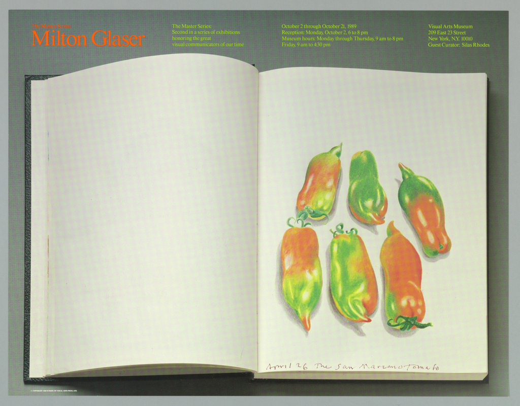 Poster, The Master Series: Milton Glaser