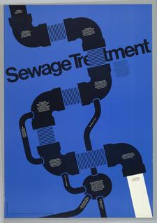 Poster, Sewage Treatment, 1972