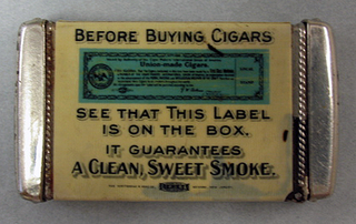 "Letter: ""Wm. Van Varwyck"" New Haven, Conn. ""Before Buying Cigars..."""