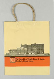 Shopping Bag, Frank Lloyd Wright House