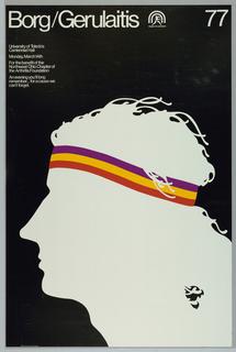 Poster, Borg/Gerulailis, 1977