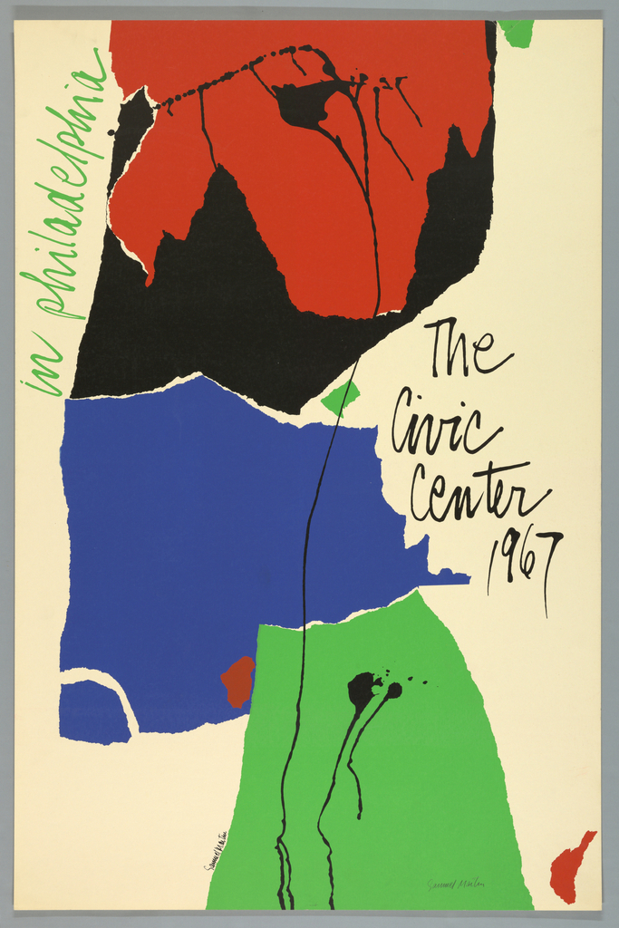 Poster, The Civic Center, 1967