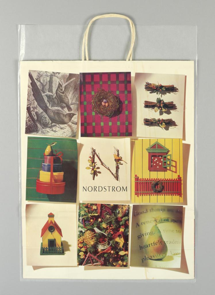 Shopping Bag, Nordstrom: Happy Holidays 1994