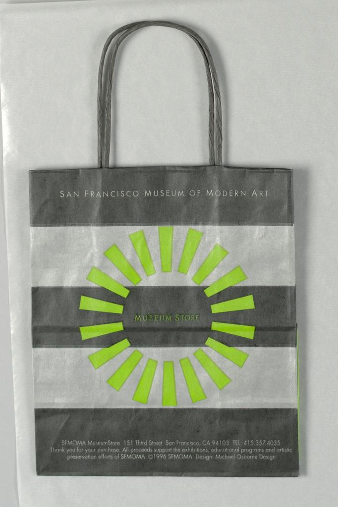 Shopping Bag, San Francisco Museum of Modern Art: Museum Store