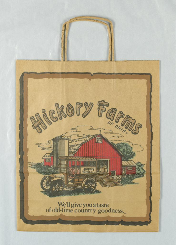 Shopping Bag, Hickory Farms of Ohio