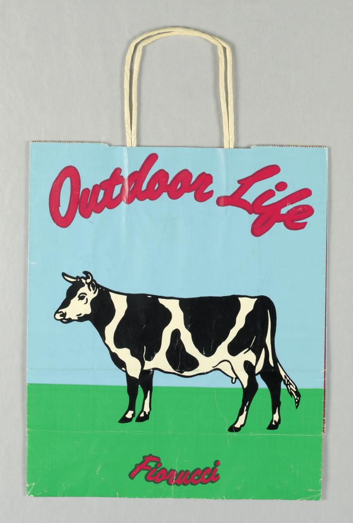 Shopping Bag, Fiorucci: Outdoor Life