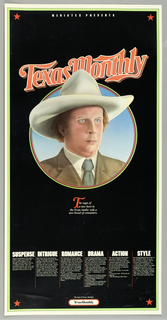 Poster, Texas Monthly
