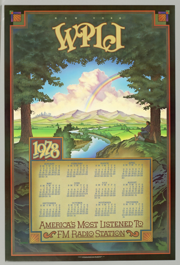 Poster, W. P. L. J., New York, 1977