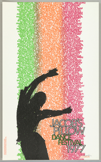 Poster, Jacob's Pillow Dance Festival, 1977