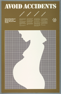Poster, Planned Parenthood: Avoid Accidents, ca. 1977