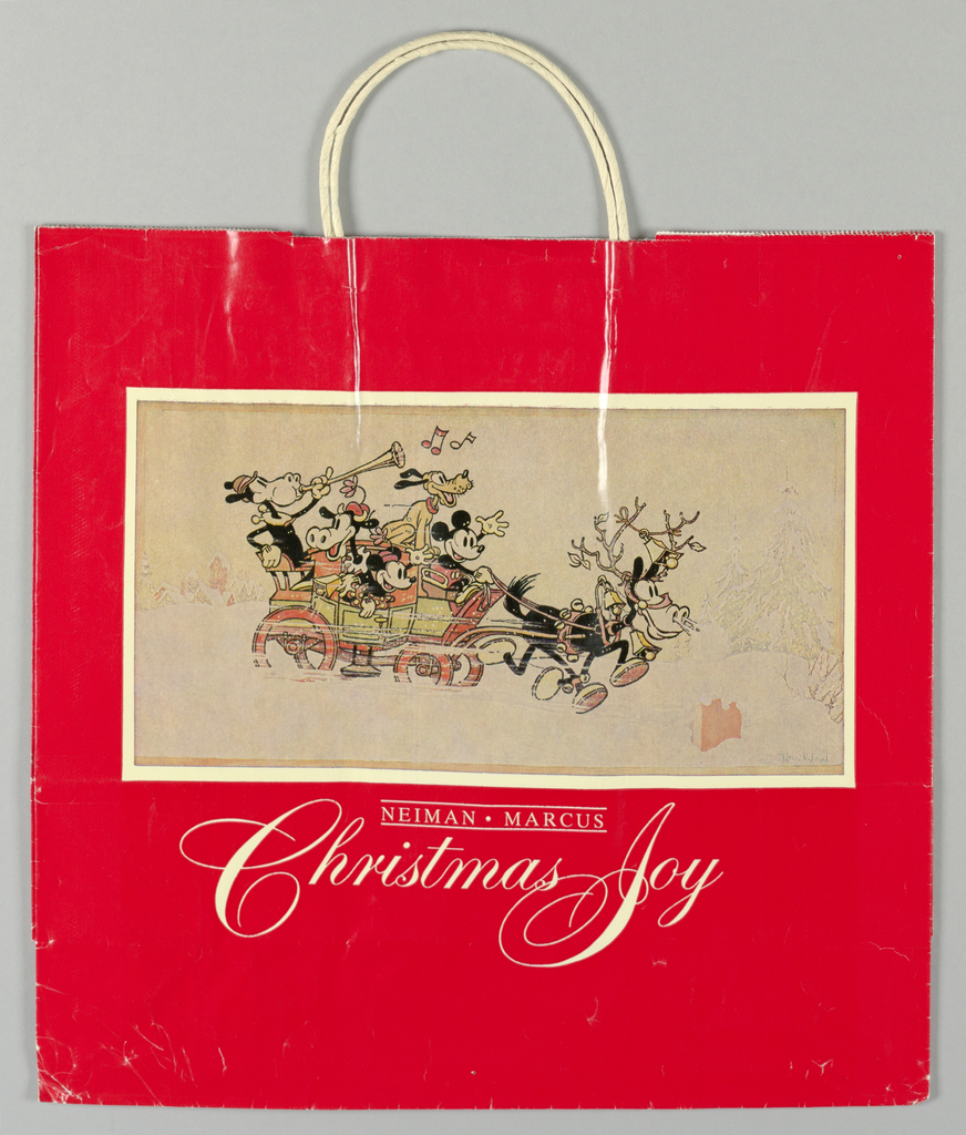 Neimanmarcus Christmas.Shopping Bag Neiman Marcus Christmas 1981 1981 Objects