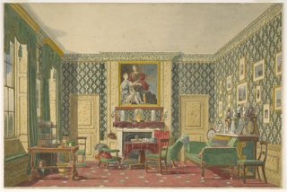 Drawing, An Interior