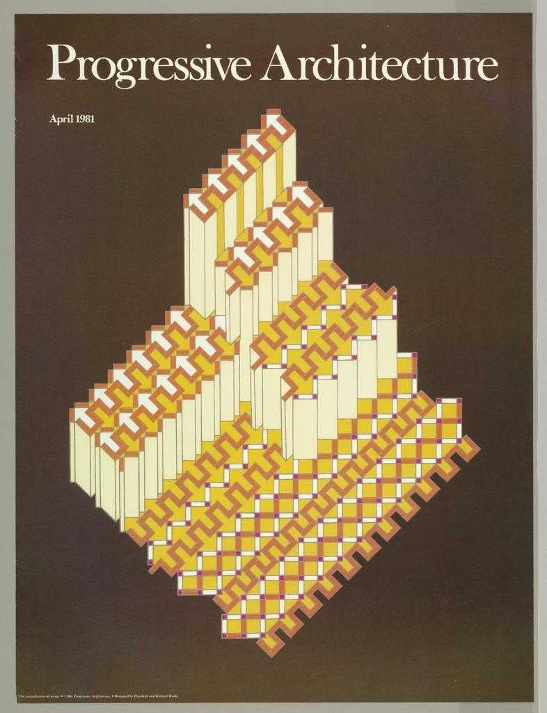 Poster, Progressive Architecture, 1981