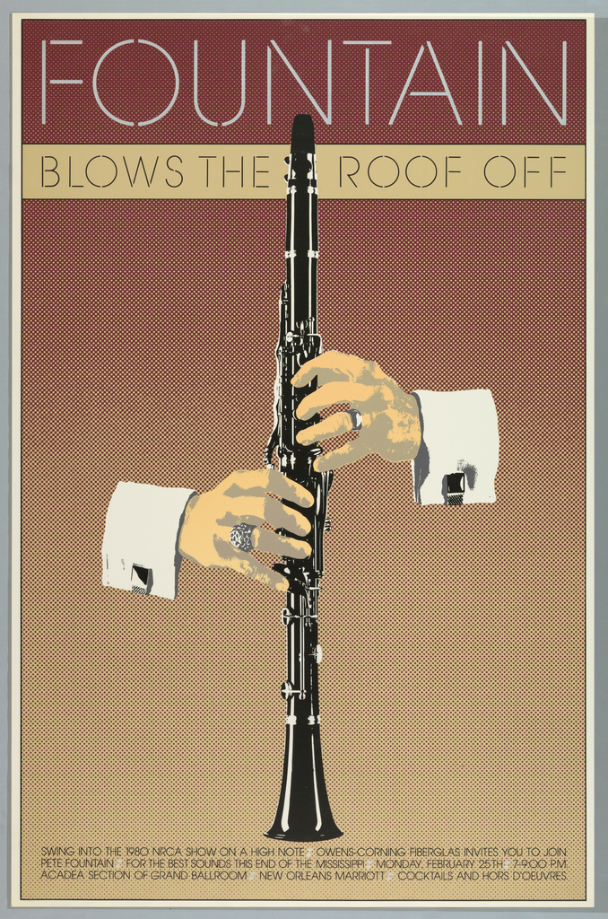 Poster, Fountain Blows the Roof Off, 1980