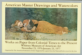American Mater Drawings and Watercolors. Image by Winslow Homer.