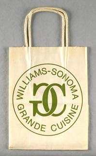 Shopping Bag, Williams Sonoma