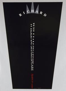 Poster, William Shakespeare/Richard III