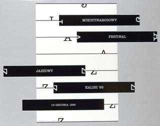 Poster, Miedzynarodowy Festiwal Jazzowy/Kalisz '95