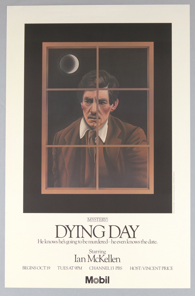 """Poster, Mobile, Mystery! """"Dying Day"""", 1982"""