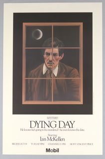 "Poster, Mobile, Mystery! ""Dying Day"", 1982"