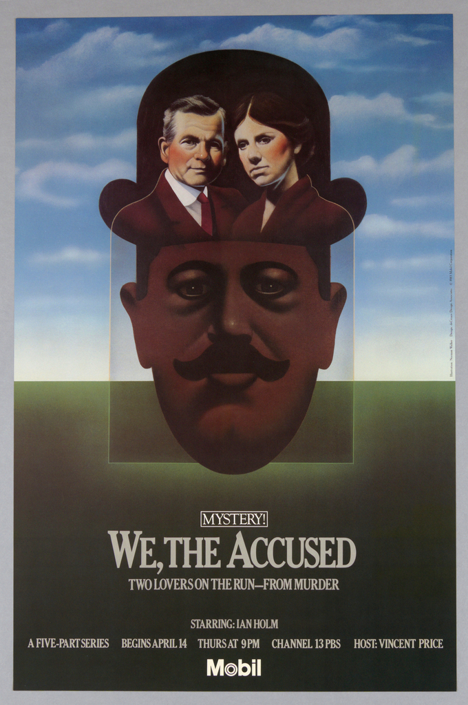"Poster, Mobile, Mystery! ""We, The Accused"", 1983"