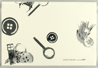 Print, Object Design: Philadelphia Print, 1996