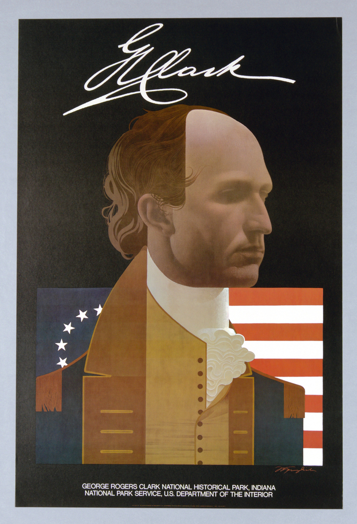 Poster, George Rogers Clark National Historical Park, Indiana