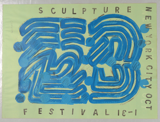 Poster, New York City/Sculpture Festival