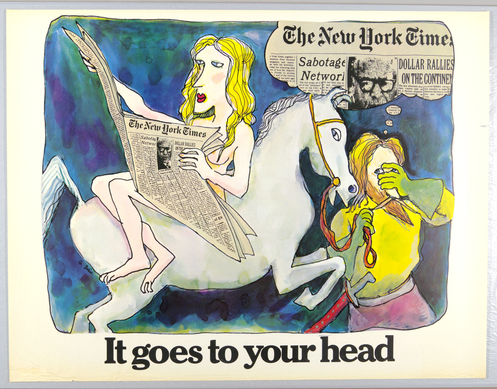 Poster, The New York Times, 1972